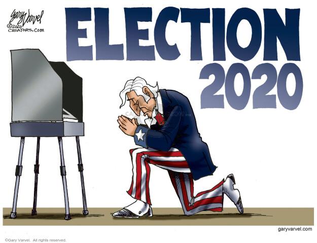 Gary Varvel  Gary Varvel's Editorial Cartoons 2020-11-02 Gary