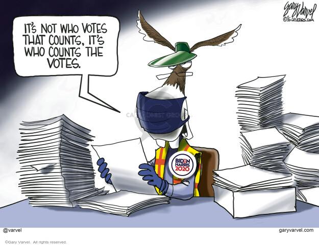 Gary Varvel  Gary Varvel's Editorial Cartoons 2020-11-05 democratic
