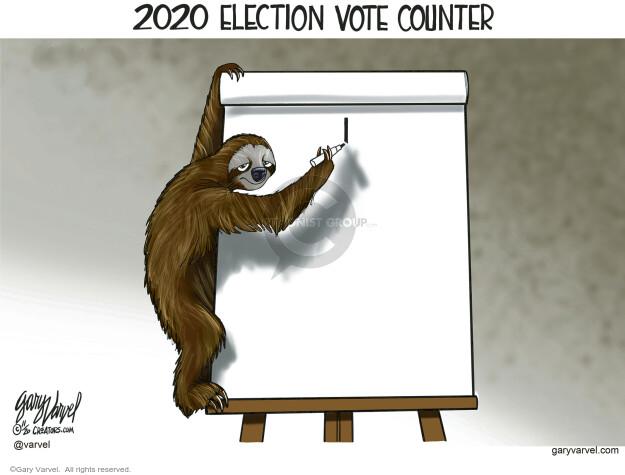 Gary Varvel  Gary Varvel's Editorial Cartoons 2020-11-07 result