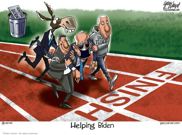 Gary Varvel  Gary Varvel's Editorial Cartoons 2020-11-08 democratic