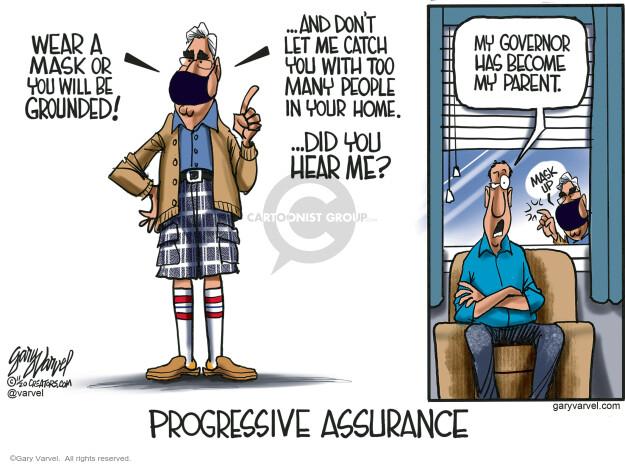 Gary Varvel  Gary Varvel's Editorial Cartoons 2020-11-12 coronavirus