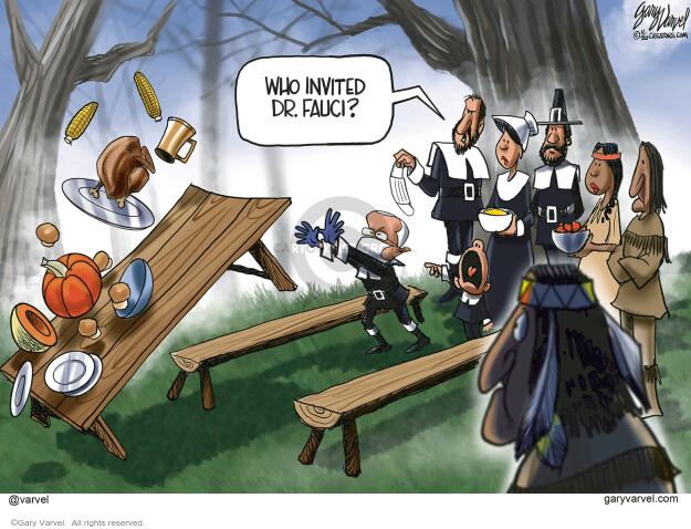 Gary Varvel  Gary Varvel's Editorial Cartoons 2020-11-16 coronavirus