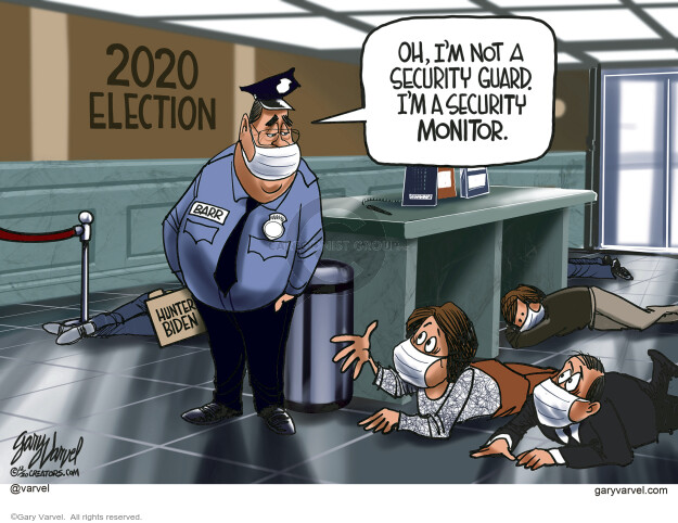 Gary Varvel  Gary Varvel's Editorial Cartoons 2020-12-12 election