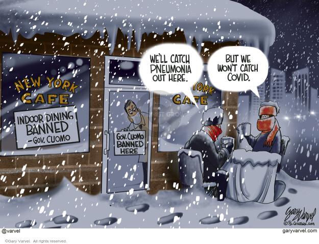 Gary Varvel  Gary Varvel's Editorial Cartoons 2020-12-21 coronavirus