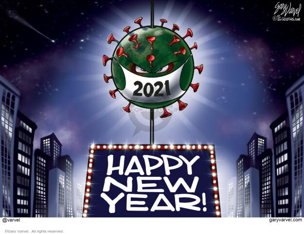 Gary Varvel  Gary Varvel's Editorial Cartoons 2020-12-29 coronavirus