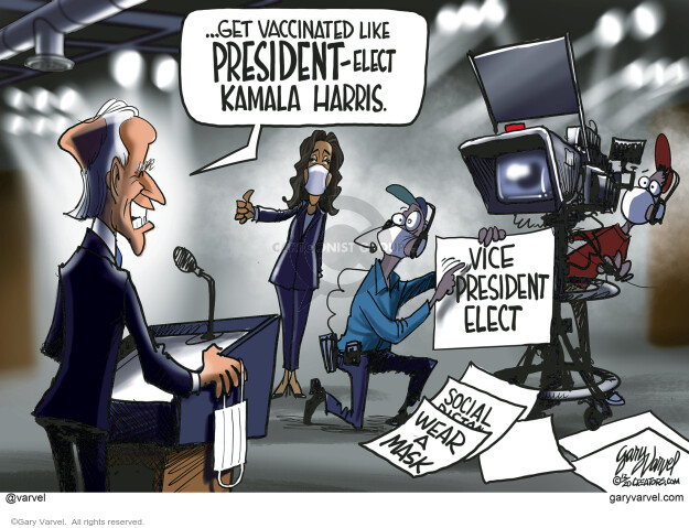 Gary Varvel  Gary Varvel's Editorial Cartoons 2020-12-30 democrat
