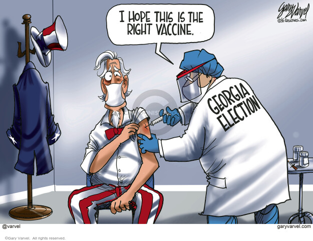 Gary Varvel  Gary Varvel's Editorial Cartoons 2021-01-05 election