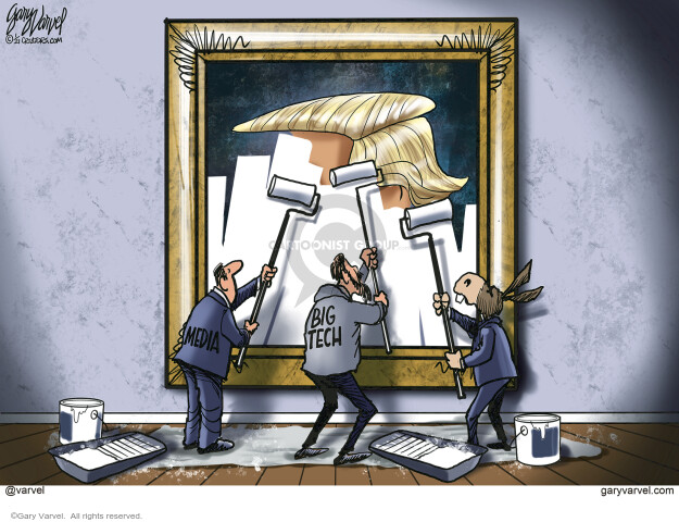 Gary Varvel  Gary Varvel's Editorial Cartoons 2021-01-13 journalism