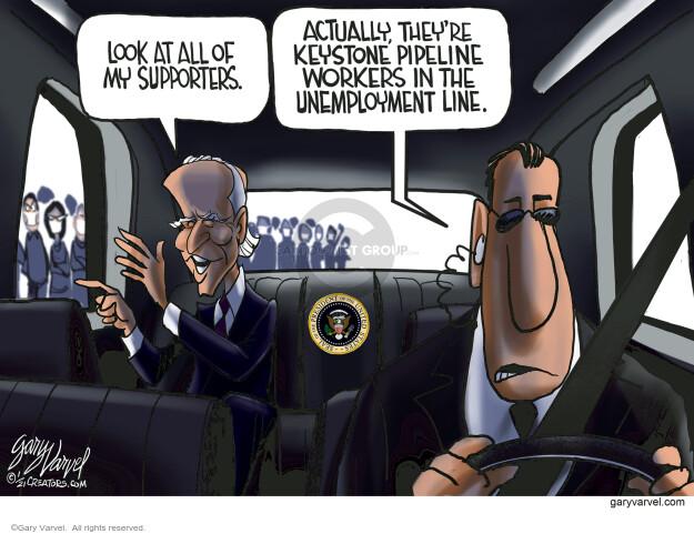 Gary Varvel  Gary Varvel's Editorial Cartoons 2021-01-26 presidential