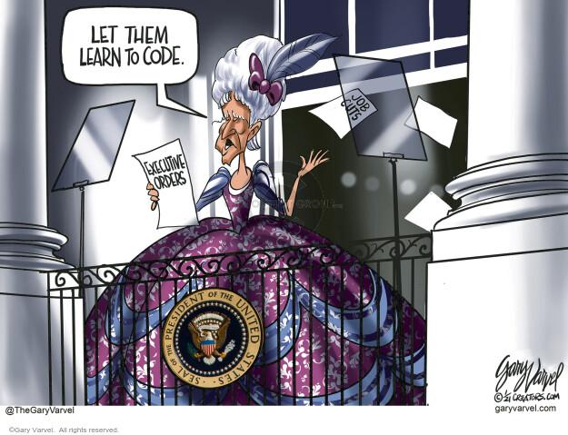 Gary Varvel  Gary Varvel's Editorial Cartoons 2021-01-28 Presidency