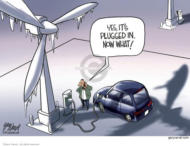 Gary Varvel  Gary Varvel's Editorial Cartoons 2021-02-21 energy