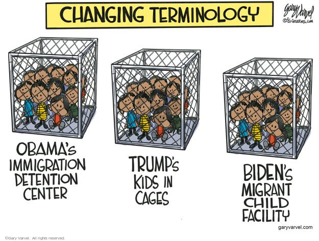 Gary Varvel  Gary Varvel's Editorial Cartoons 2021-02-24 Presidency
