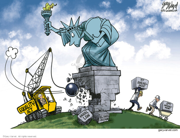 Gary Varvel  Gary Varvel's Editorial Cartoons 2021-02-27 congressional