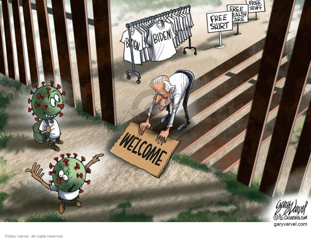 Gary Varvel  Gary Varvel's Editorial Cartoons 2021-03-04 coronavirus