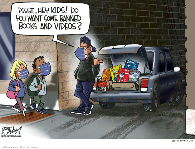 Gary Varvel  Gary Varvel's Editorial Cartoons 2021-03-09 you