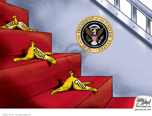 Gary Varvel  Gary Varvel's Editorial Cartoons 2021-03-20 foreign policy