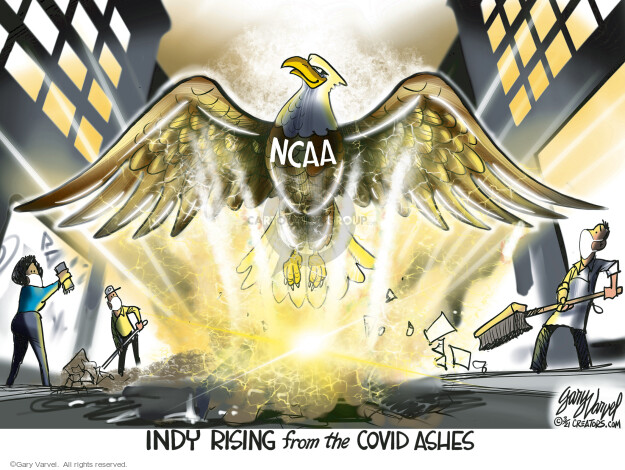 Gary Varvel  Gary Varvel's Editorial Cartoons 2021-03-22 coronavirus