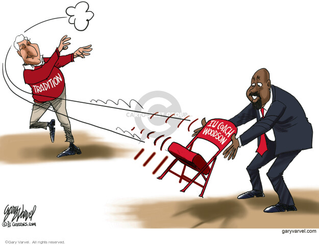 Gary Varvel  Gary Varvel's Editorial Cartoons 2021-03-30 leadership