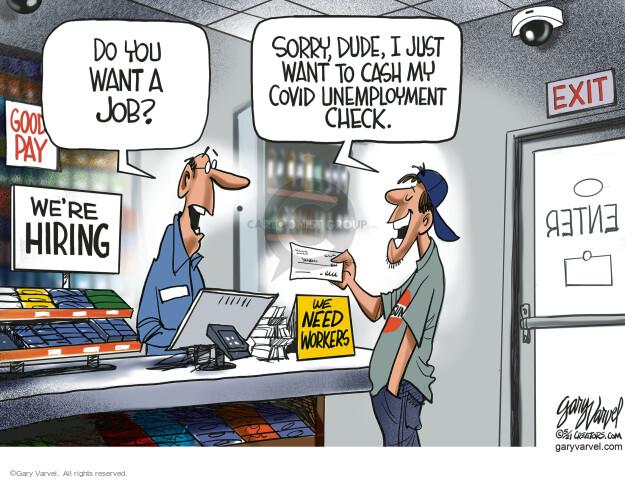 Gary Varvel  Gary Varvel's Editorial Cartoons 2021-05-09 Gary