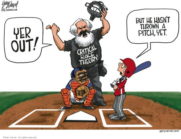 Gary Varvel  Gary Varvel's Editorial Cartoons 2021-05-25 race