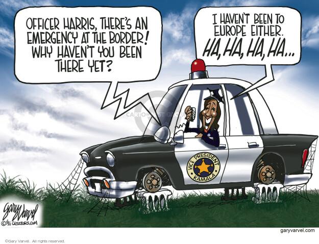 Gary Varvel  Gary Varvel's Editorial Cartoons 2021-06-10 vice president