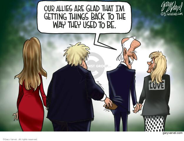 Gary Varvel  Gary Varvel's Editorial Cartoons 2021-06-11 president