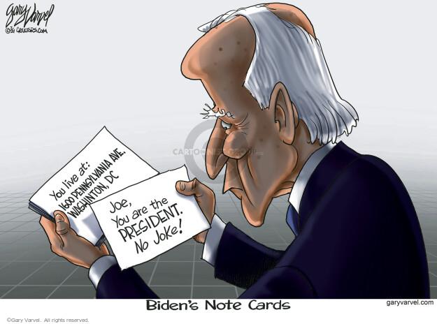 Gary Varvel  Gary Varvel's Editorial Cartoons 2021-07-06 Presidency
