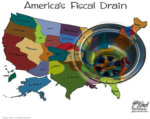 Gary Varvel  Gary Varvel's Editorial Cartoons 2021-08-02 financial