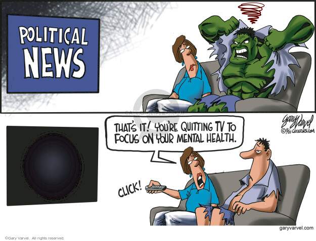 Gary Varvel  Gary Varvel's Editorial Cartoons 2021-08-03 you