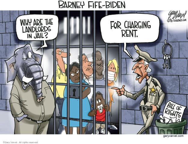 Gary Varvel  Gary Varvel's Editorial Cartoons 2021-08-06 presidential administration