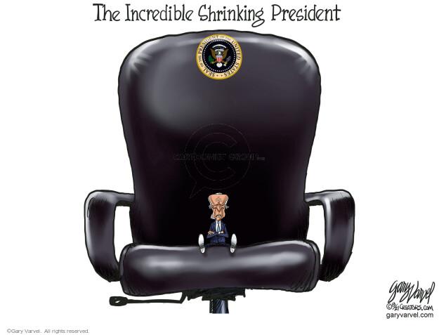 Gary Varvel  Gary Varvel's Editorial Cartoons 2021-08-19 presidential administration