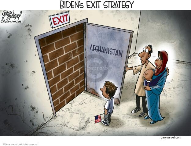 Gary Varvel  Gary Varvel's Editorial Cartoons 2021-08-24 presidential administration