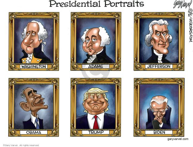 Gary Varvel  Gary Varvel's Editorial Cartoons 2021-08-30 Joe Biden