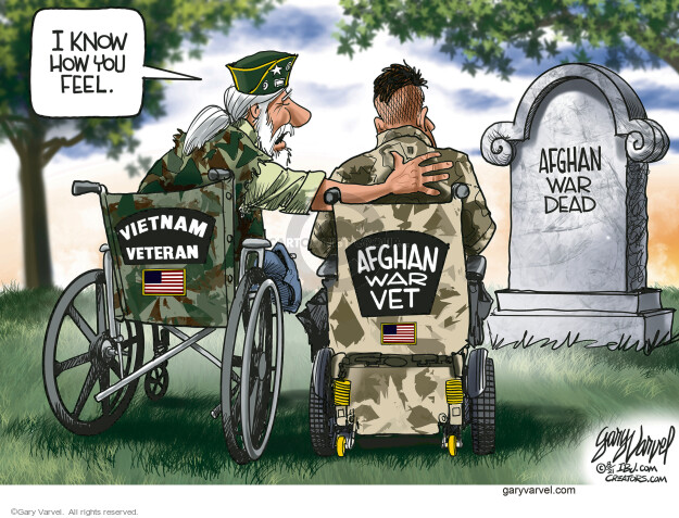 Gary Varvel  Gary Varvel's Editorial Cartoons 2021-09-02 foreign policy
