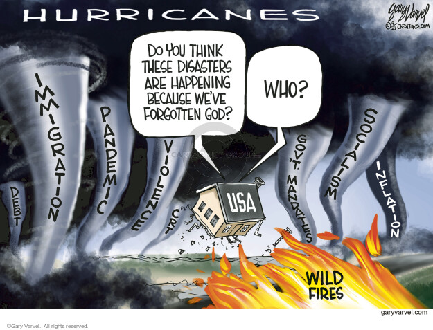 Gary Varvel  Gary Varvel's Editorial Cartoons 2021-09-03 government