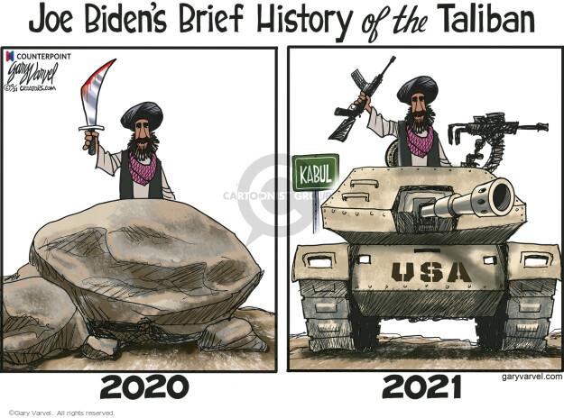 Gary Varvel  Gary Varvel's Editorial Cartoons 2021-09-14 Joe Biden