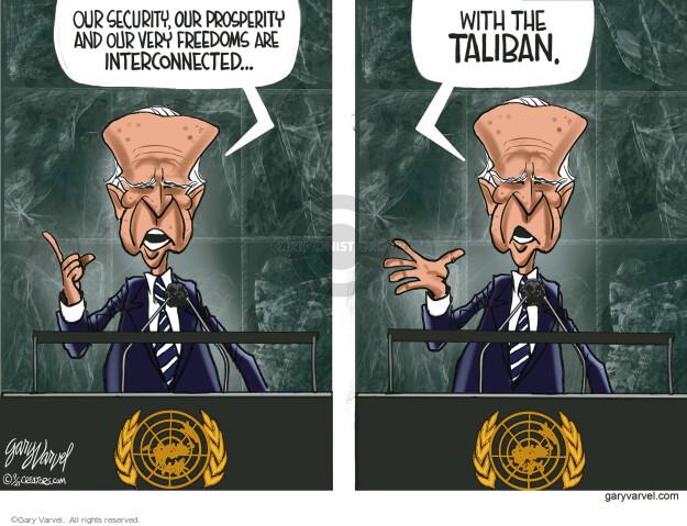 Gary Varvel  Gary Varvel's Editorial Cartoons 2021-09-21 Joe Biden