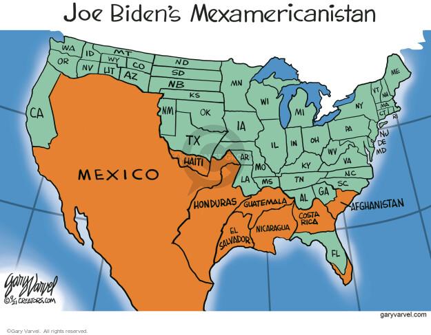 Gary Varvel  Gary Varvel's Editorial Cartoons 2021-09-23 Joe Biden