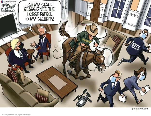 Gary Varvel  Gary Varvel's Editorial Cartoons 2021-09-28 Joe Biden