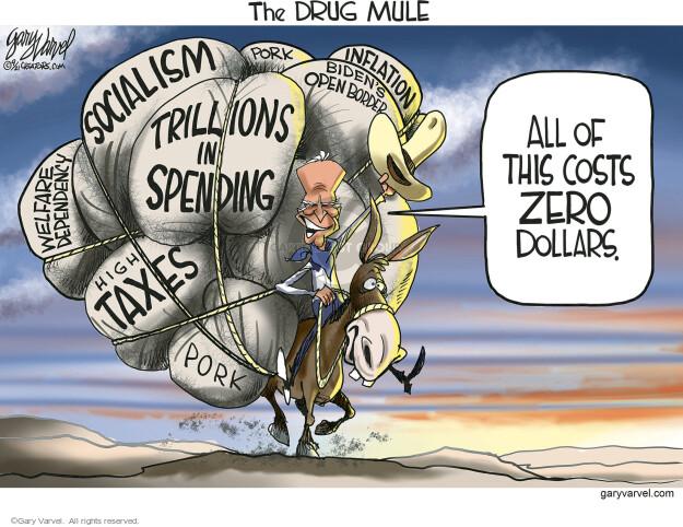 Gary Varvel  Gary Varvel's Editorial Cartoons 2021-09-29 Joe Biden