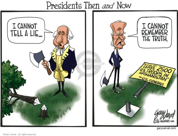 Gary Varvel  Gary Varvel's Editorial Cartoons 2021-09-30 Joe Biden