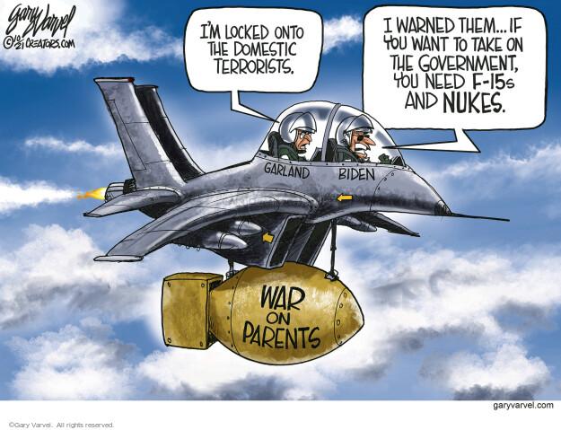 Gary Varvel  Gary Varvel's Editorial Cartoons 2021-10-07 Joe Biden