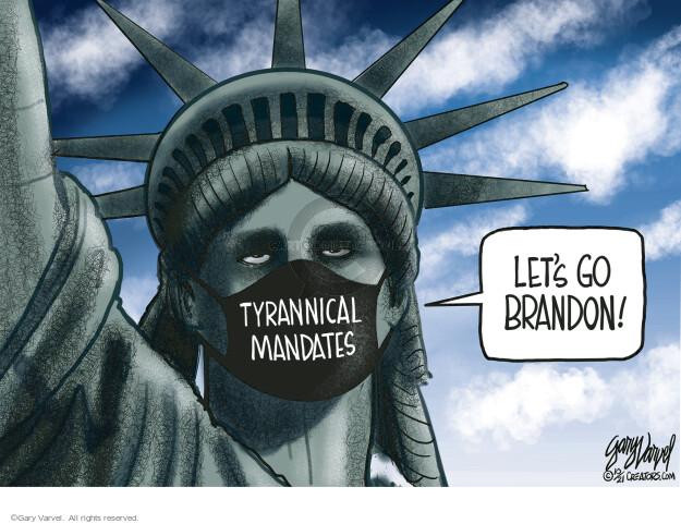 Gary Varvel  Gary Varvel's Editorial Cartoons 2021-10-11 editorial