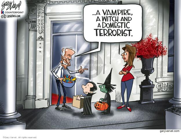 Gary Varvel  Gary Varvel's Editorial Cartoons 2021-10-12 Joe Biden