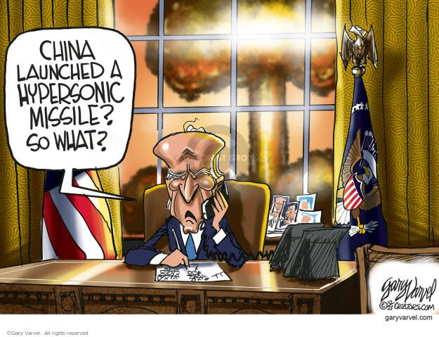 Gary Varvel  Gary Varvel's Editorial Cartoons 2021-10-20 Joe Biden