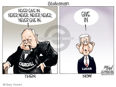 Gary Varvel  Gary Varvel's Editorial Cartoons 2007-06-29 Winston Churchill