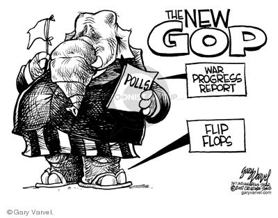 Cartoonist Gary Varvel  Gary Varvel's Editorial Cartoons 2007-07-19 Iraq war