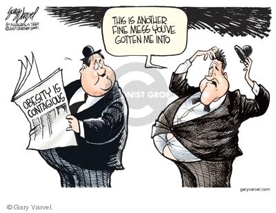 Gary Varvel  Gary Varvel's Editorial Cartoons 2007-07-30 weight