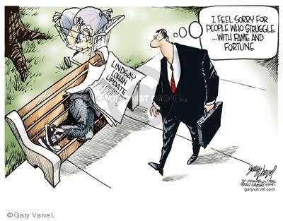 Cartoonist Gary Varvel  Gary Varvel's Editorial Cartoons 2007-08-02 shelter