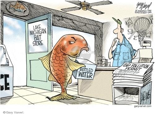 Cartoonist Gary Varvel  Gary Varvel's Editorial Cartoons 2007-08-15 store
